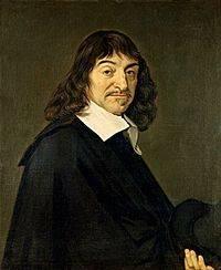 Renee Descartes, em pintura de Frans Hals