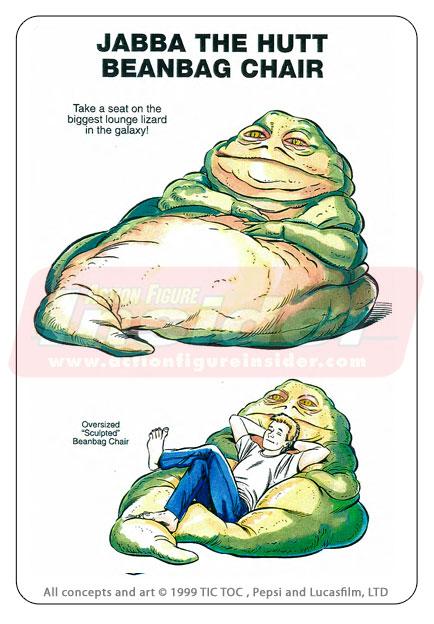 Puffe do Jabba the Hutt