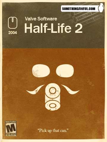 Redesenho da emabalagem de Half Life 2