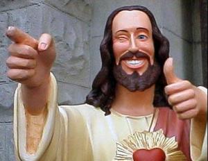 Estátua de Jesus.
